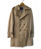 BEAUTY&YOUTH(ビューティアンドユース)の古着「トレンチコート」 ベージュ