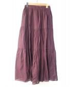 BEATUY&YOURTH(ビューティーアンドユース)の古着「ティアードマキシスカート」