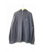 A BATHING APE(ア ベイシング エイプ)の古着「フルジップパーカー」|ネイビー