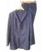 BOGLIOLI(ボリオリ)の古着「セットアップスーツ」|ネイビー