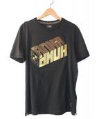 FENDI(フェンディ)の古着「Roma AmorジャージーTシャツ」|ブラック