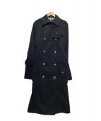 BURBERRY BLUE LABEL(バーバリーブルーレーベル)の古着「トレンチコート」|ネイビー