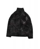 Needles Sportswear(ニードルズスポーツウェア)の古着「ミックスカラーフリースジャケット」|パープル