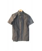 MaxMara(マックスマラ)の古着「セットアップブラウス」|グレー
