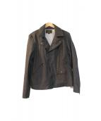 Hysteric Glamour(ヒステリックグラマー)の古着「ダブルライダースジャケット」|ブラック
