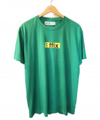 affix(アフィックス)の古着「半袖Tシャツ」|グリーン