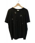 SAINT LAURENT PARIS(サンローラン パリ)の古着「ロボットTシャツ」|ブラック