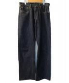 TCB jeans(ティーシービージーンズ)の古着「ストレートデニムパンツ」|インディゴ
