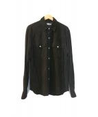 Ron Herman(ロンハーマン)の古着「スウェードシャツ」 ブラック