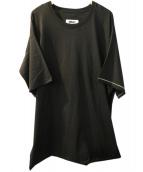 MM6(エムエムシックス)の古着「Sides Oversize Shirt」 ブラック