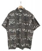 reyn spooner(レインスプーナー)の古着「アロハシャツ」|ブラック