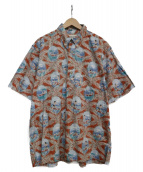reyn spooner(レインスプーナー)の古着「アロハシャツ」|スカイブルー