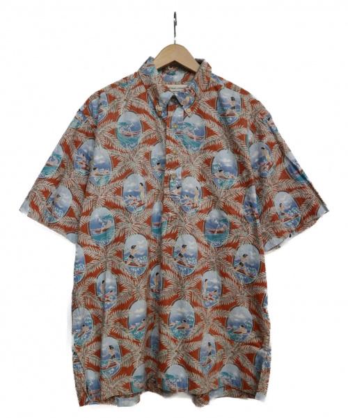 reyn spooner(レインスプーナー)reyn spooner (レインスプーナー) アロハシャツ スカイブルー サイズ:Lの古着・服飾アイテム