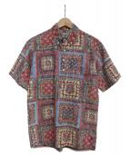 reyn spooner(レインスプーナー)の古着「アロハシャツ 」|レッド