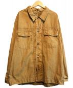 C.P COMPANY(シーピーカンパニ)の古着「ジップアップジャケット」|ブラウン
