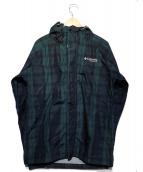 Columbia(コロンビア)の古着「フーデッドジャケット」|グリーン×ブラック