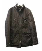 DIESEL(ディーゼル)の古着「ジップジャケット」|ブラック