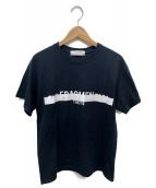 TOGA(トーガ)の古着「プリントTシャツ」|ブラック