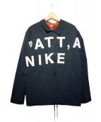 Nike×Patta(ナイキ×パタ)の古着「裏ボアジャケット」 ブラック