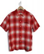 WACKO MARIA(ワコマリア)の古着「半袖シャツ」|ホワイト×レッド