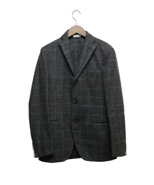 BOGLIOLI(ボリオリ)BOGLIOLI (ボリオリ) 3Bスーツ  グレー×ブルー サイズ:46の古着・服飾アイテム