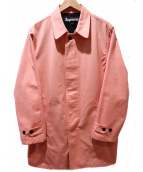 Supreme(シュプリーム)の古着「ステンカラーコート」|ピンク