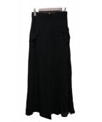 FENDI(フェンディ)の古着「フロントポケットスカート」|ブラック