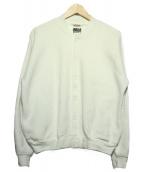 AURALEE(オーラリー)の古着「スナップカーディガン」|ホワイト