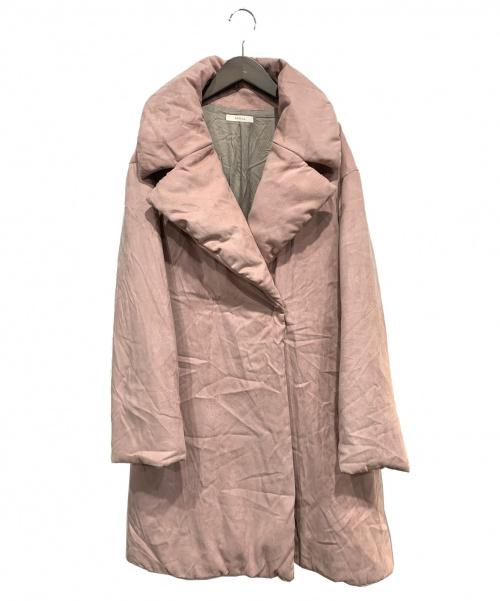 EPOCA(エポカ)EPOCA (エポカ) 中綿コート ピンク サイズ:44の古着・服飾アイテム