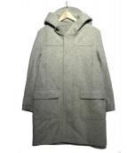 nanamica(ナナミカ)の古着「ウールメルトンダッフルコート」|グレー