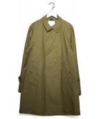 nanamica(ナナミカ)の古着「ステンカラーコート」|ベージュ