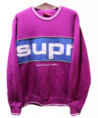 Supreme(シュプリーム)の古着「クルーネックスウェット」|パープル