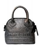 DIESEL(ディーゼル)の古着「2WAYショルダーバッグ」|シルバー