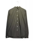 Bergfabel(バーグファベル)の古着「スタンドカラーシャツ」 グレー