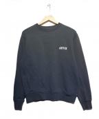 affix(アフィックス)の古着「ロゴスウェットシャツ」|グレー