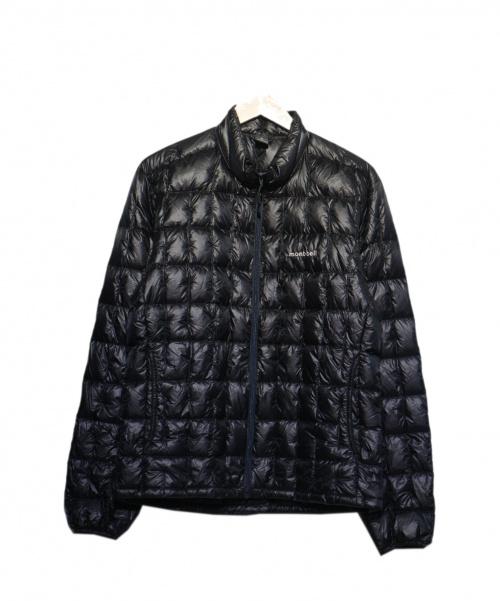 mont-bell(モンベル)mont-bell (モンベル) プラズマ1000ダウンジャケット ブラック サイズ:Mの古着・服飾アイテム