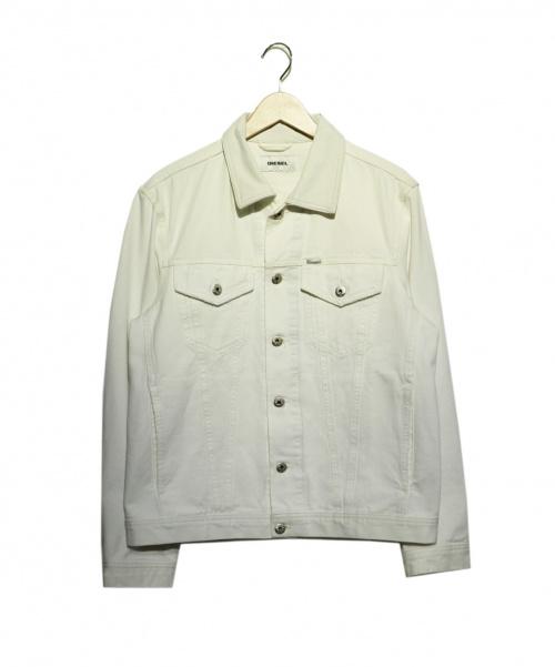 DIESEL(ディーゼル)DIESEL (ディーゼル) ルーズデニムジャケット ホワイト サイズ:Mの古着・服飾アイテム