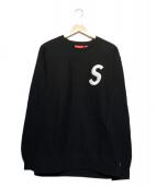 Supreme(シュプリーム)の古着「S logo Crewneck スウェット」|ブラック