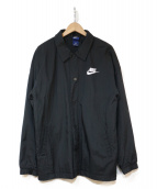 NIKE(ナイキ)の古着「コーチジャケット」 ブラック