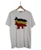 MAISON KITSUNE(メゾンキツネ)の古着「プリントTシャツ」|ホワイト