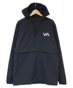 RVCA(ルーカ)の古着「アノラックパーカー」|ブラック