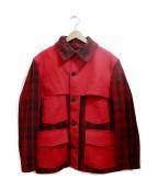 STYLE EYES(スタイルアイズ)の古着「ウールハンティングジャケット」|レッド