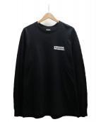 Supreme(シュプリーム)の古着「SACRED UNIQUE L/S TEE Tシャツ」|ブラック