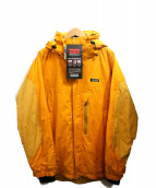 AIGLE(エーグル)の古着「フーデッドジャケット」|イエロー