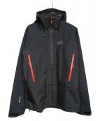MILLET(ミレー)の古着「KAMET 2 GTX JKT」 ブラック