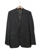 Roen(ロエン)の古着「ウールシルクテーラードジャケット」|グレー