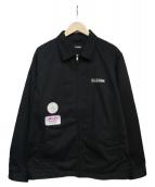 X-LARGE(エクストララージ)の古着「PATCHED WORK JACKET ジャケット」|ブラック