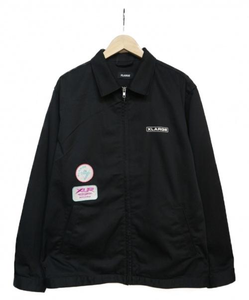 X-LARGE(エクストララージ)X-LARGE (エクストララージ) PATCHED WORK JACKET ジャケット ブラック サイズ:Lの古着・服飾アイテム