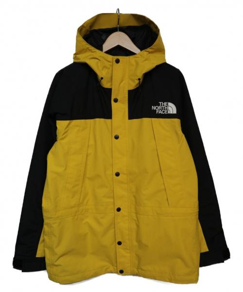 THE NORTH FACE(ザノースフェイス)THE NORTH FACE (ザノースフェイス) MOUNTAIN LIGHT JACKET ジャケット レモン サイズ:M NP11834 レオパードイエローの古着・服飾アイテム