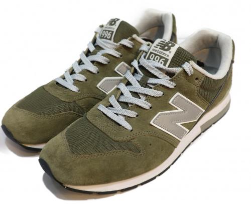 NEW BALANCE(ニュー・バランス)NEW BALANCE (ニュー・バランス) MRL996MJ オリーブ サイズ:28cmの古着・服飾アイテム